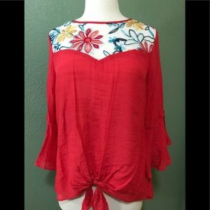 I. N. Studio Ladies Pullover Top  NWT Large
